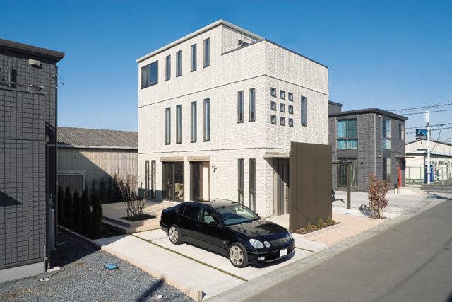 トヨタホーム東京の大空間の家