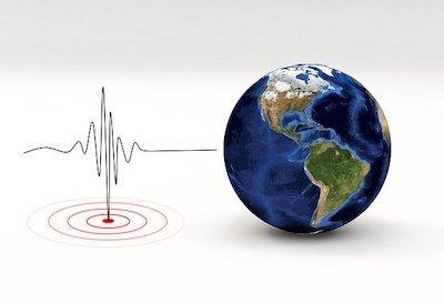 振動の波形と地球
