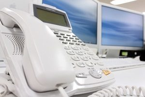 電話とPC