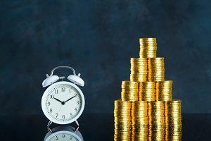 時計と貨幣