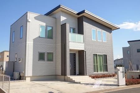 シンプルモダンの家のイメージ画像