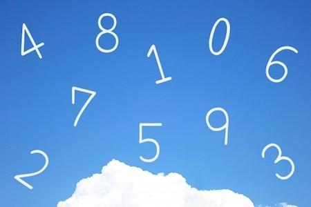 数字の画像