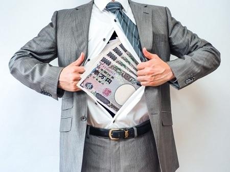 ビジネスマンとお金