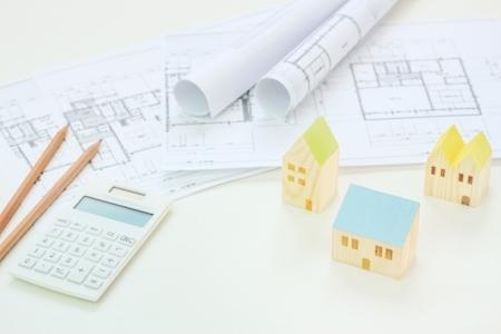 家の設計図の画像