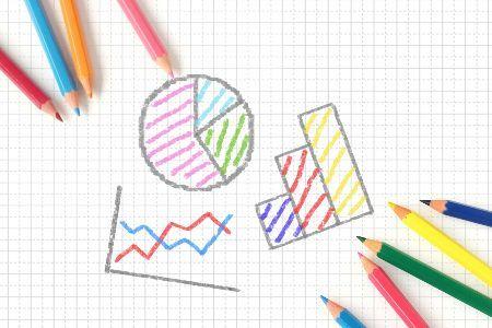 カラフルなグラフ